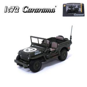 Cararama 1/72 1/4ton ミリタリートラック カララマ ミニカー 200-687