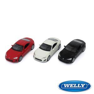 TOYOTA 86のミニチュアカー! メーカーは老舗の精巧モデルに定評の Welly(ウィリー) 社...