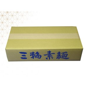 (お徳用三輪素麺 三輪の冷麦 みわそうめん みわのひやむぎ) 50g × 100束/ほそめん・めん類など。贈答・贈り物・お歳暮・お中元・ご進物・お取り寄|tenobe-nakagaki