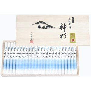 三輪素麺 神杉 みわそうめん かみすぎ 1,250g (50g × 25束) お中元・お歳暮・贈り物に 産地直送 送料無料|tenobe-nakagaki