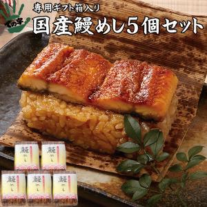 うなぎ 鰻 国産 蒲焼 ギフト プレゼント おこわ 鰻めし 100g×5個セット ての字|tenoji