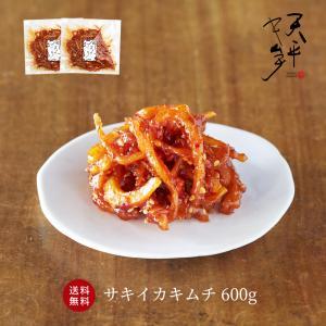 【送料無料】お得セット!!(300g×2P)  そのまま食べてもおいしいサキイカに甘辛い『特製ヤンニ...