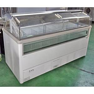 【送料別途見積】【中古】【業務用】 冷凍ショーケース サンヨー SCR-GF-1800N 幅1824×奥行804×高さ1120 単相100V/3相200V|tenpos