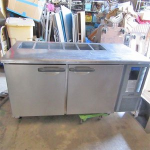 冷蔵サンドイッチコールドテーブル ホシザキ RT-150SDF-R  業務用 中古/送料別途見積 tenpos