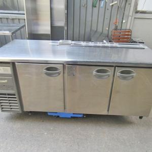 冷蔵サンドイッチコールドテーブル 福島工業 YRW-180RM  業務用 中古/送料別途見積 tenpos