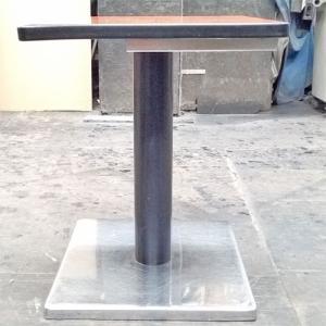 スナックテーブル木目  業務用 中古/送料無料 幅400×奥行400×高さ500|tenpos