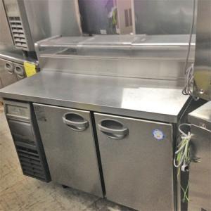 ネタケース付き冷蔵コールドテーブル フクシマガリレイ(福島工業) YRW-120RM2-NCF  業務用 中古/送料別途見積|tenpos