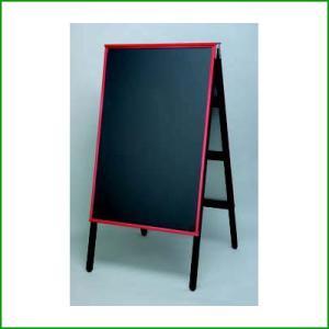 A型黒板アカエ AKAE-745 チョークブラック (業務用)|tenpos