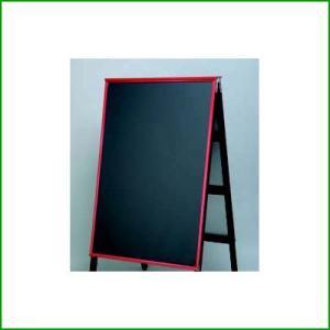 A型黒板アカエ 取替用ボード AKAE-745BOR チョークブラック (業務用)(同梱グループA)|tenpos
