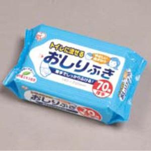 ウェットティッシュおそりふき(70枚入) WTY-N70/業務用/新品 tenpos