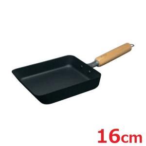 商品名:マグマプレート 匠 玉子焼き 中 寸法:内径:160×140・深さ:35・板厚:1.6・底径...