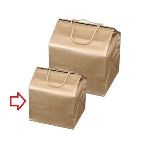 おせち 重箱バッグ 手提げ付バッグ ゴールド(小) 6.5寸...