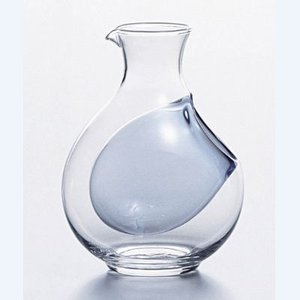 冷酒カラフェ氷ポケット付徳利 61048DV (業務用)(グループP)|tenpos