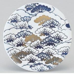 回転寿司皿 寿司皿松  高さ21 直径:150 (業務用食器)(グループI)