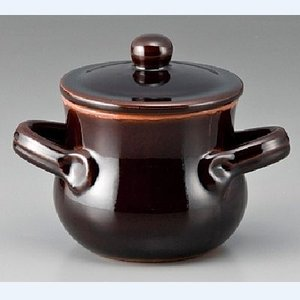 チーズフォンデュ バーニャカウダー用セット BR蓋付スープ鍋 /グループR