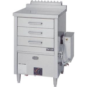 蒸器 業務用 MUD-13C MARUZEN マルゼン 引出し3個 1槽式 ガス式 ドロワータイプ 送料無料|tenpos