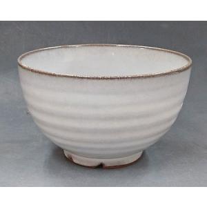 【萩焼 飯茶碗】 白萩小どんぶり<11-18C>|tenryu