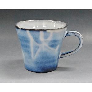 【萩焼 マグカップ】 彩紫マグカップ<14-40A>|tenryu
