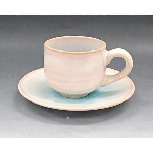 【萩焼 コーヒー碗皿】 ソライロ 珈琲器<GA7-18A>|tenryu