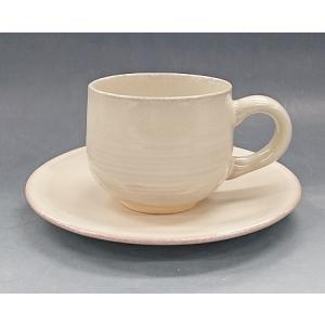【萩焼 コーヒー碗皿】 窯変珈琲器<H7-18A>|tenryu