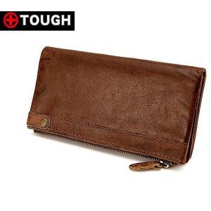 タフ TOUGH Leather Wash レザーウォッシュ 牛革 財布 長財布 プレゼント55568|tenshinotsubasa