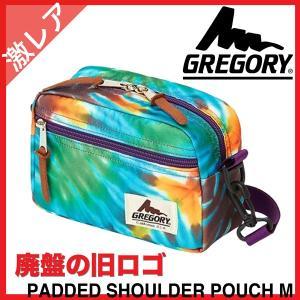 グレゴリー GREGORY パデッドショルダーポーチ M  ボディバッグ ショルダー 2015 限定 ベアフットタイダイ 旧ロゴ  Padded Shoulder Pouch|tenshinotsubasa