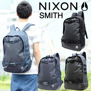ニクソン NIXON SMITH2 スミス2 リュック バックパック デイパック 防水 ブランド 小さ めメンズ レディース tenshinotsubasa