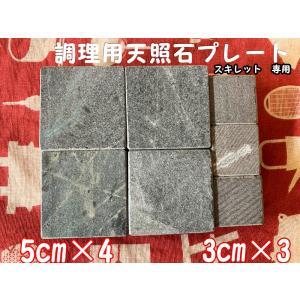 スキレット専用 調理用天照石プレート 5cmセット|tenshouseki38