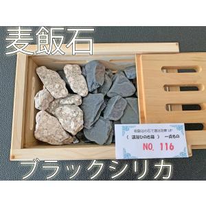 ブラックシリカ 麦飯石 健康 石 入浴効果 温浴 岩盤浴 特価セール no.116 tenshouseki38
