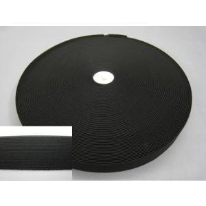 一般的な織ゴム(平ゴムベルト)です。平織りのゴムで、通常、スポーツウェアやカジュアルウェアのウエスト...