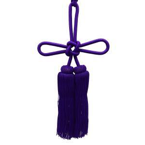 人絹揚巻房6寸紫 (レターパックプラス便可)|tenten-tent