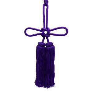 人絹揚巻房8寸紫|tenten-tent