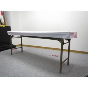 ビニールテーブルクロス(ボックスタイプ)450巾用−白(10枚入)|tenten-tent