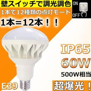 【製品仕様】LEDバラストレス水銀灯PAR56(調光調色タイプ) 消費電力:60W 全光束:9600...