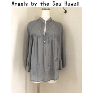 セール Angels by the Sea Hawaii  シーブラウス グレー tentoumusi-recycle