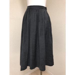 ◆ランク◆SAA<br /><br />無印良品のギャザースカート。お色はグ...