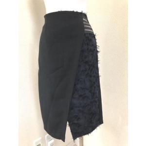 Titilate Valet 異素材切り替え ラップスカート|tentoumusi-recycle