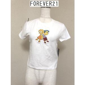 セール FOREVER21× シンプソンズ コラボ ショート丈Tシャツ M tentoumusi-recycle