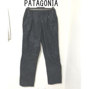 patagonia アウトドア ウィメンズ トレントシェル パンツ M 黒|tentoumusi-recycle