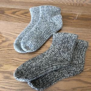 あったか靴下 2足セット グレー レディース|tentoumusi-recycle