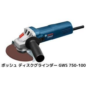 BOSCH ボッシュ ディスクグラインダー GWS 750-100 砥石径100mmφ 1060Wハイパワー 電源100V(50〜60Hz) ※先端工具別売「即納 即出荷」|tenyuumarket