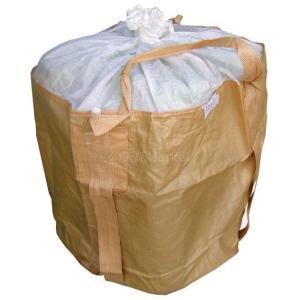 ハーフフレコンバッグ 500kg 丸型 900φ×800(mm) 10枚入 反転ベルト(反転フック)付 土のう袋 送料無料(本州/四国/九州)0.5t「同梱/キャンセル/変更/返品不可」|tenyuumarket|05