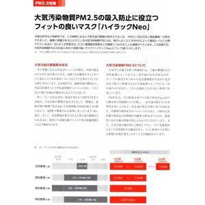 日本製 興研 ハイラックNeo かからんぞ KIDS 5枚入 排気弁付 キッズ 子供用マスク 高フィットマスク 高性能フィルター 立体接顔クッション|tenyuumarket|08