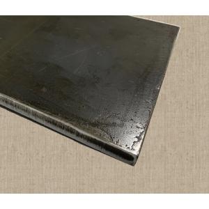 鉄板 10cm×15cm 厚み6mm  材料/金属/作業台/プレート/金属/極厚/切板/DIY/SS400 teppan-market