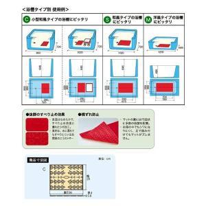 アロン化成 安寿 吸着すべり止めマットC (2枚入)|terasuke|02
