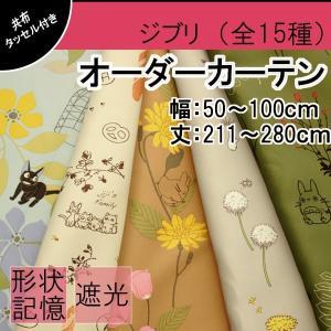 〜ジブリの可愛いオーダーカーテン〜  ジブリの世界感を演出する、とっても可愛いカーテンです。 柔らか...