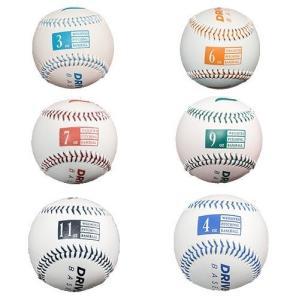 金子千尋投手も愛用★ドライブラインベースボール レザー 野球の腕のケア トレーニング用 6個セット 購入特典付き