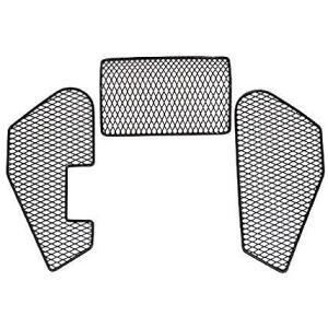 キジマ(KIJIMA) シートフレームネット ZOOMER ズーマー ローシートフレーム用 ブラック 208-057|terranet