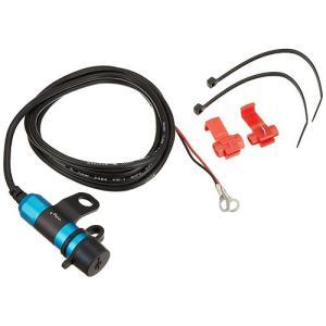 キジマ(KIJIMA) USBポートKIT USBチャージャー ミラーマウント シングルポート3 DC5V/2A ブルー 304-6237|terranet