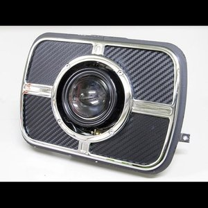 プロテック ZRX1200R / ZRX1100 / ZRX400 / GPZ900R Ninja用 LEDプロジェクターヘッドライト LH-3160 角目タイプ   3000K 63160-30|terranet